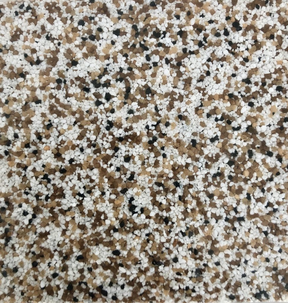 Epoxy Kvarts Brown Mix